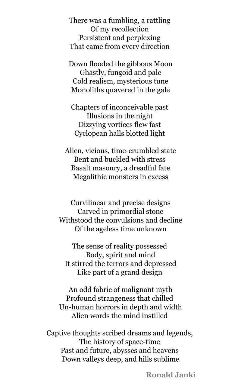 The Ageless Silhouette - A poem by Ronald Janki