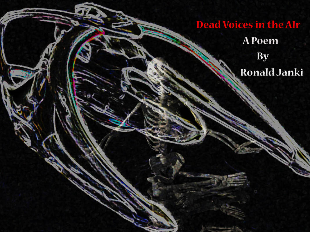 Dead Voices in the Air - A Poem by Ronald Janki